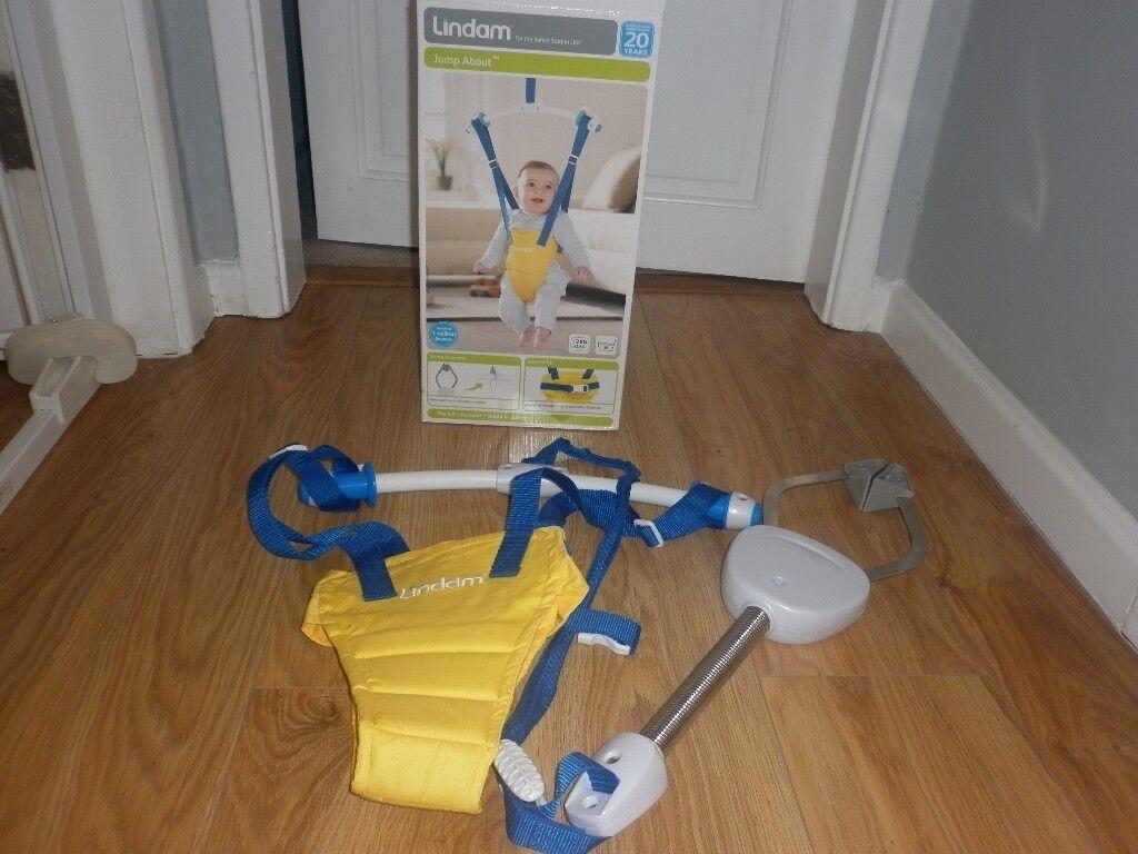 8ad352944435 Lindam baby door bouncer swing