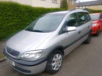 Opal Zafira 1.8 Comfort with Private Plate P10 BOR