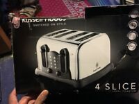 Russell Hobbs toaster new other see