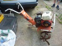 Flymo rotovator with working Honda engine, project (Newick)