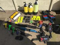 Selection of Diving Equipment
