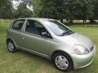 Toyota Yaris Automatic, 25210 Genuine Miles, HPI Clear
