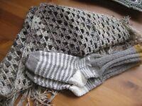 Shawl and socks