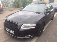 2009 Audi A6 , Leather seats, built in SATNAV, Turbo engine, Luxury car-recently Mot'd