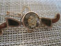 Antique/vintage 9ct gold Scottish brooch