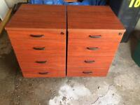 X2 filing cabinet/drawers