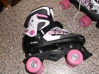 Ladies Quad roller skates.