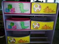 Kids shoe rack/ toys storage PEPPA PIG