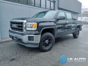 2014 GMC Sierra 1500 4x4 Crew Cab! Upgraded Wheels and Tires!