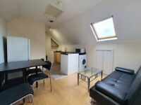 Lovely, top floor large 2 bedroom flat, Mackintosh Place/Albany Road. £725 PCM. Available NOW
