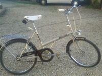 vintage bsa twenty 1970s bicycle