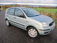 Ford Fusion 2 1.4 16V only 51,000 miles FSH . 11 stamps .Immaculate condition. NOW £1825 ono.