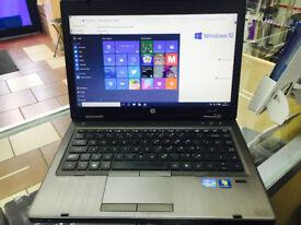 HP Probook 6460b Laptop.4GBram. Core i5 2nd Gen/ windows 10 PRO / INTEL HD graphics +WARRANTY