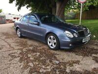 Mercedes E220 Cdi Avantgarde (Diesel) Auto Saloon 2006 56 Reg