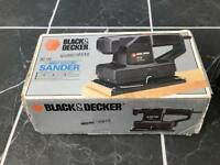 Black & Decker 1/3 Sheet Electric Sander