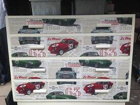 RACING CAR THEMED CHEST OF DRAWERS