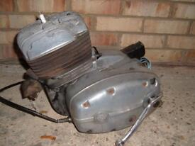 CZ 125 Engine and lots of spares.