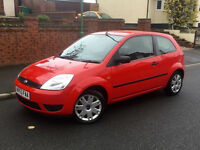 2005*FORD FIESTA STYLE 1.25 PETROL*12 MONTHS MOT*NEW CLUTCH*AIR CON*CD PLAYER*IDEAL FIRST CAR