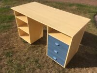 Children's desk with plenty of storage. Collection only.