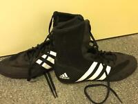Size 6 adidas boxing boots excellent condition