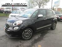 2014 Fiat 500 LOUNGE W/ LEATHER, ROOF & NAV