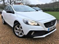 *Watch Video* Volvo V40 Cross Country D2 Lux *FREE Tax* Long MOT Full Leather Volvo History 2 Owners