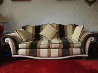 Sofas - 3 piece suite.