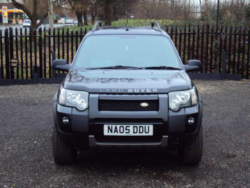 land rover freelander 2 0 td4 hse s w diesel 4wd 5 door sat nav leather seats extras long mot f. Black Bedroom Furniture Sets. Home Design Ideas