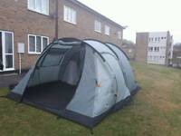 Vango icarus 500 tent bundle with awning, footprint and carpet