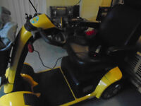 Panther Mobility Yellow Scooter H/duty for spares & repairs