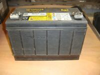 Battery Caterpillar Sealed Battery was used for Electric Outboard Motor Fully Charged