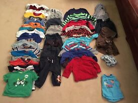 Boys 1-2 years clothes excellent condition