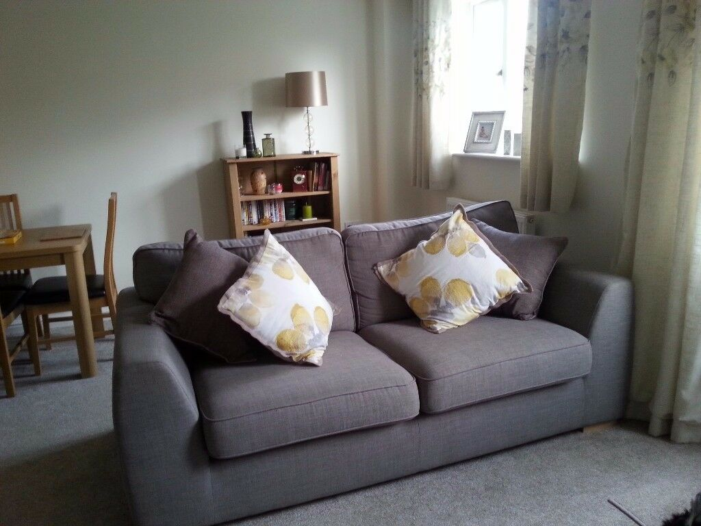 Sofas - three seater and two seater
