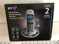 BT Freelance Digital Cordless XT3500