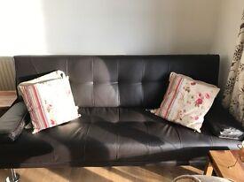 Brown sofa bed, still in box £100.00