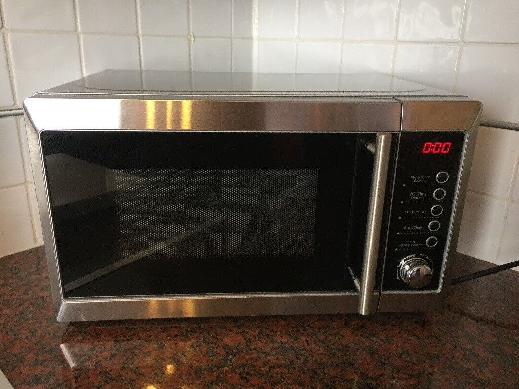 Silver Tesco Microwave Oven With Grill 20l For Sale In
