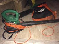 Leaf blower and vac