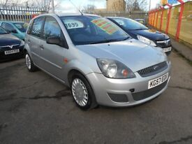 FORD FIESTA 1.4 STYLE 5DR 2007 MODEL,12 MONTHS MOT ON PURCHASE,OUSTANDING CONDITION,SERVICE HISTORY