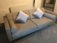 lovely sofa £1500 new will sell for £300 - 2 double sofas available