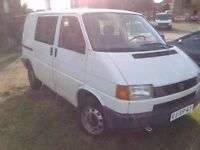 VERY NEAT LEFT HAND DRIVE VOLKSWAGEN TRANSPORTER,DRIVES PERFECTLY,GOOD LOAD SPACE,PAPERS SORTED.CALL