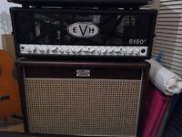 EVHiii 100w head & Zilla studio pro 212 cab