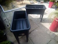 Two elho grow tables for sale.
