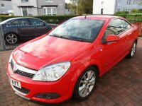 Vauxhall Astra Twin Top Convertible in excellent condition.