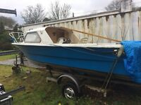 18 feet leisure boat for sale