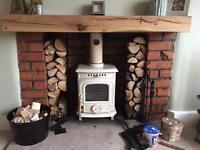 Wood Burner log burner installation HETAS REGISTERED