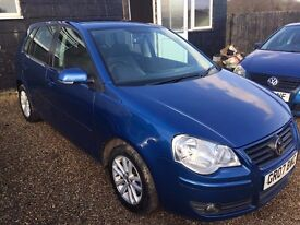 VW POLO 1.2S 5DR 2007 IDEAL FIRST CAR CHEAP INSURANCE FULL SEEVICE HISTORY