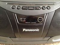 Portable Panasonic Stereo CD System