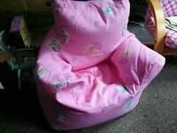 Disney princess bean bag chair