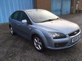 2005 Ford Focus 1.6 zetec , mot - April 2018,only 77,000 miles,2 owners from new,astra,golf,megane