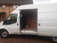 Man and van services 24/7 same day quick response
